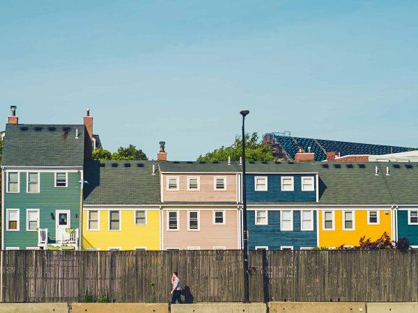 Fassadenfarbe Häuser