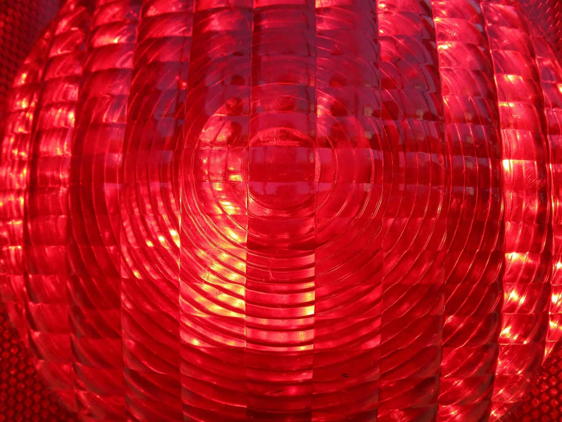 LED Warnlicht Rot Warnblinkleuchte 3er LED Leuchten Batteriebetrieben Warnblitzer Notfall Warnsignal Licht f/ür Auto und Fahrrad