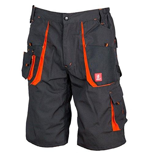 Kurze Arbeitshose Sicherheitshose Schutzhose Arbeitsbekleidung Sommer (KR-URG-A) (52)