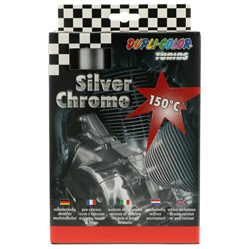 DUPLI-COLOR 674570 Silver Chrome Set Auto 400 ml
