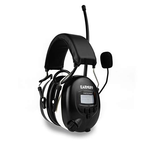 EAR-MUFF DAB+ Digital Radio Gehörschutz BLUETOOTH Kopfhörer Gehörschützer (1)