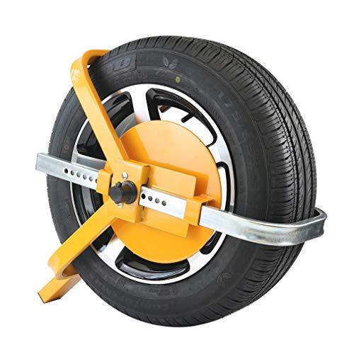 KAIRAY Radklemmenschloss Radkralle Auto-Reifenklemmschloss Reifenklauen-Diebstahlsicherung Für Anhänger Boote Rv, Rad 13-16